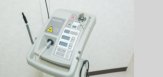 レーザーによる顎関節症、口内炎などの無痛治療